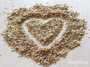 oatmeal gandum