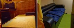 sofa dan tempat tidur