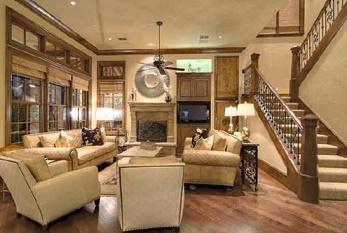 ruang tamu rumah Kevin Jonas