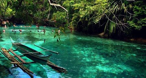 The Enchanted River Filipina