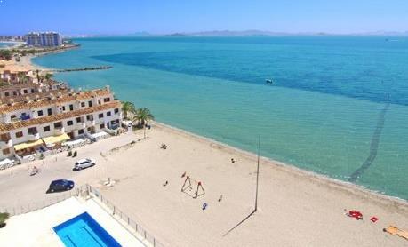 Pantai La Manga Del Mar Menor