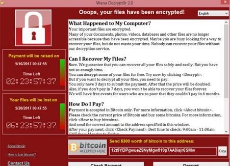 info Ransomware WannaCry