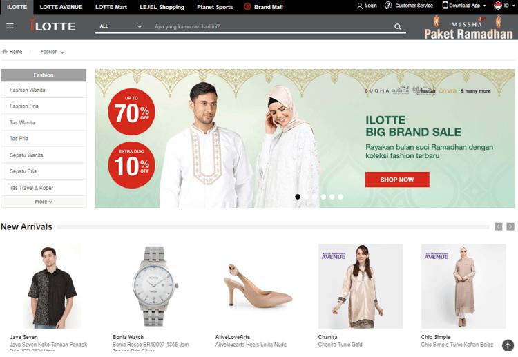 Promo Baju Lebaran Pria di iLOTTE.com