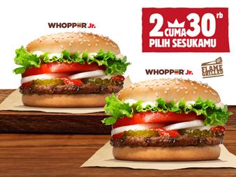 Promo Burger King Tangga Tua