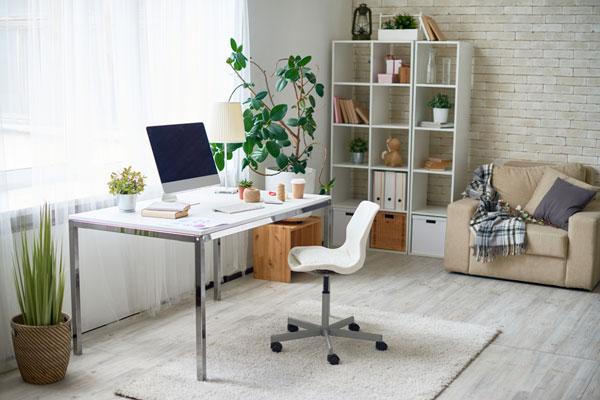 Mengubah dekor ruang kerja di rumah