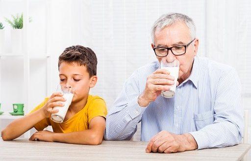 susu untuk orang lanjut usia